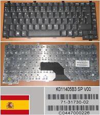 Clavier Qwerty Espagnol AMILO L7300 V2010 K011405B3SP 71-31730-02 K020630B3 Noir
