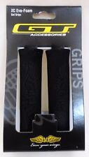 GT Wing Logo BMX Mountain Bikes XC Eva - Foam Bicycle Handlebar Grips Black Pair