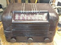 RCA VICTOR 56X10 Antique RADIO Working! Bakelite Tube Vintage RARE works Old