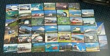 JAPAN Phonecards - 43 x Trains Trams - Steam Electric