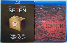 NEW SEVEN (SEV7N) BLU RAY + TARGET EXCLUSIVE QUOTE SLIPCOVER WHATS IN THE BOX?