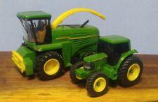 2 John Deere Toy Tractors