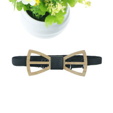 Handmade Wood Bow ties Butterfly Ties Men Hollow out Wooden bow tie wedding RH