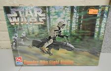 Star Wars Speeder Bike Flight Display Model Kit AMT ERTL 1997 ROTJ MISB