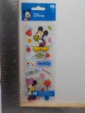 EK SUCCESS DISNEY MICKEY'S CANDY SHOP DIMENSIONAL STICKERS A9901