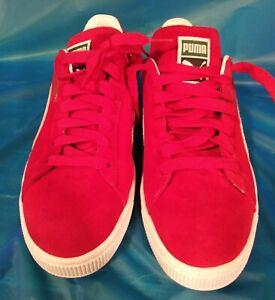 Red Suede Puma 11 Men Shoe
