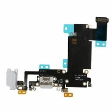 "Apple iPhone 6S Plus 5.5"" USB Charging Port Dock Audio Flex Cable White New"
