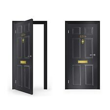 221B BAKER STREET SHERLOCK HOLMES adesivo vinile per porte / doorwrap / PORTA SK...