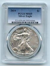 2014 $1 American Silver Eagle Dollar 1oz PCGS MS69