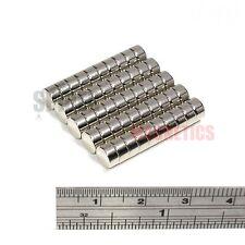 50 Imanes 6x3 mm N52 Neodimio Disco Fuerte Pequeño Neo Craft Imán 6mm diámetro x 3mm
