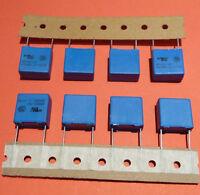 4x MKP I 6,2 nF 1500V K gelb axial Vintage Kondensator Hochvolt Tube Amp etc.