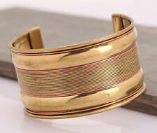 Unisex Magnetic Healing Bio Tibetan Pain Relief Bangle Copper Bracelet Cuff