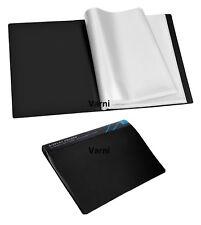 A4 Display Book/Presentation Folder Flexi Cover 10/20/30/40/60/80/100 Pockets