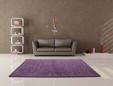 Einfarbige Aktuelles-Design Wohnraum-Teppiche im Hochflor/Shaggy/Flokati-Stil für Waschraum