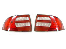 DEPO 2004-08 Acura TL Red Clear Tail Light Cover Replacement Set Left + Right
