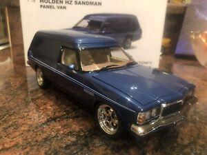 1:18 Modified Holden HZ Panelvan - Windsor Blue(A73349)