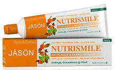 Jason NUTRISMILE Antiplaque Enamel Defense Orange/Cinnamon/Mint TOOTHPASTE 119g
