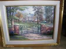 Thomas Kinkade Graceland 50th Anniversary 18X24 GP  Signed Canvas New