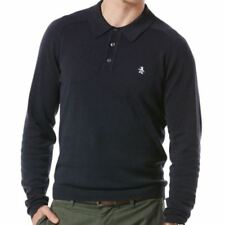 Y Neck Regular Size Casual Polo Shirts for Men