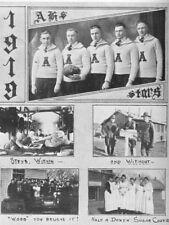 1919 Abilene KS High School Yearbook~History~Photos~Baseball~WWI