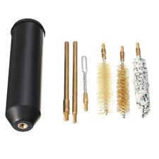 US 7 Brushes Hand Gun Cleaning Kit Brass Rods Cleaner  Set For 357/38/9mm Pistol