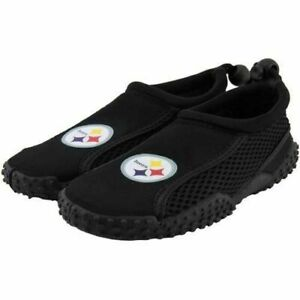 PITTSBURGH STEELERS - WATER SHOES - YOUTH SMALL (11-12) - NEW WITH TAGS