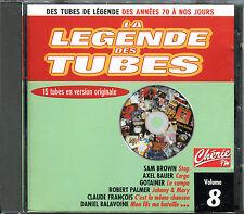 LA LEGENDE DES TUBES - COMPILATION CD - VOLUME 8 [2057]