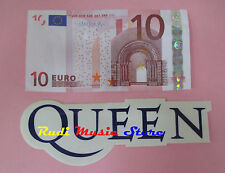ADESIVO STICKER QUEEN 14X5 CM FREDDIE MERCURY ** no cd dvd lp mc vhs promo live