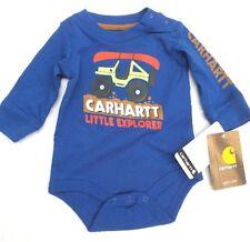 """Carhartt Infant Boys 3 month """"Little Explorer"""" Onesie   [JA-2]"""