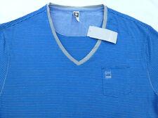 G-STAR Raw Men RCT Brad V-Neck with pocket T-Shirt Tee Shirt Size 2XL XXL Slim