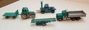 1999 Vintage Tonka Kentoys Lot Of 5 Farm And Industrial Vehicles