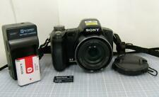 Sony Cybershot DSC-H50 9.1MP Digital Camera 15X with Card, Battery and Charger