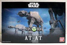 "In STOCK Bandai Star Wars ""AT-AT"" 1/144 Scale Empire Strikes Back Model Kit"
