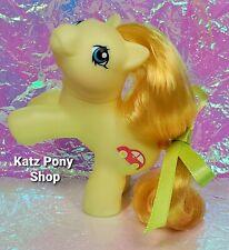HQG1C Custom G1 MLP Style Playful Baby Pony 💜 ZIPPER 💜 w Accessories! YELLOW