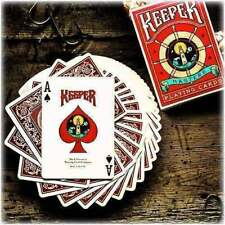 Spiel Von Karten Keeper Deck (Marked) - Red By Ellusionist