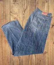 Lucky Brand Jeans Gene Montesano Denim Blue Men's 40/32 Straight Leg EUC