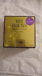 White Diamonds by Elizabeth Taylor Body Radiance perfumed Body Powder 2.6 oz
