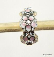 NEW! AUTHENTIC PANDORA CHARM MAGNOLIA BLOOM SPACER  #792088PCZ  P  *SPECIAL*
