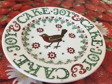"Emma Bridgewater Joy Robin 2015 8.5"" Plate New Discontinued"