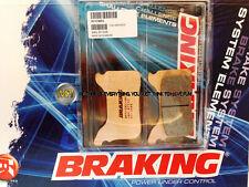 PER APRILIA SXV 550 2005 05 PASTIGLIE ANTERIORE SINTERIZZATE FRENO BRAKING CM55