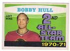 71-72 OPC O-Pee-Chee Bobby Hull 2nd All-Star Team #261 Real Sharp (Ex+)