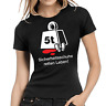 Sicherheitsschuhe retten Leben Comedy Fun Spaß Sprüche Lady Damen Girlie T-Shirt