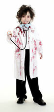 zombie doctor SURGEON kids boys halloween costume M