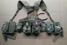 MTP / Multicam Osprey Webbing Belt Kit Set 7 Pouches Molle Belt PLCE Yoke
