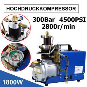 1800W Hochdruckluftpumpe Kompressorpumpe 30MPA 4500PSI Air Pump PCP 300bar