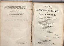 dizionario portatile e di pronunzia francese italiano-ital.francese .cormon