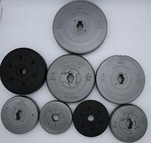 "Set of 2(pair) 2.5/lb/3lb/4.4lb/5lb/7.5lb/8.8lb/10lb/15lb CAP Standard 1"" Plates"