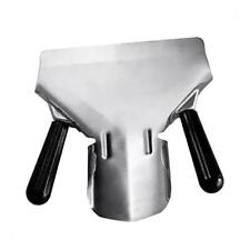 Metal Chip Scoop Food French Fries Shovel Fry Scoop Double Handle Stainless