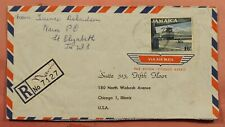 DR WHO 1964 JAMAICA NAIN REGISTERED AIRMAIL TO USA  163740