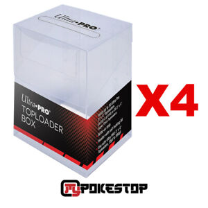 4 Boites de Rangement Ultra PRO Pour Toploader - Toploader Box
